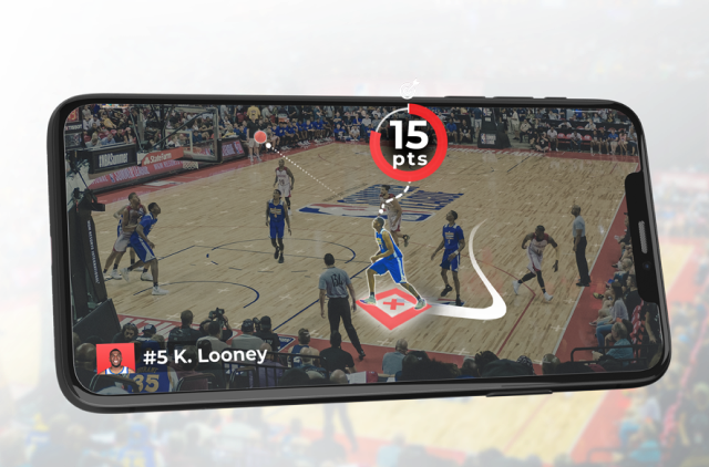 ARISE augmented reality AR sports