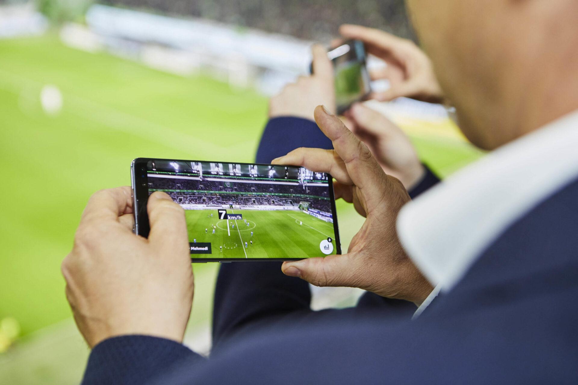 bundesliga vodafone 5G kickoff AR app