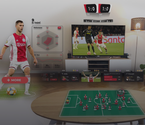 sports augmented reality football TV