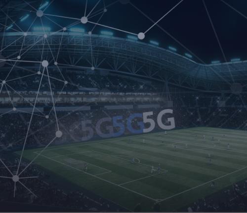 5G sport stadium football