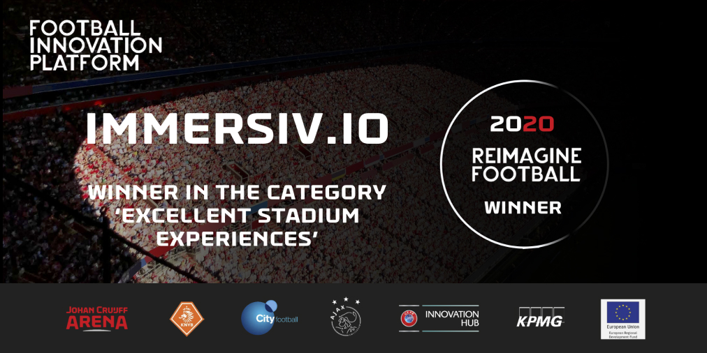 Immersiv.io winner reimagine football