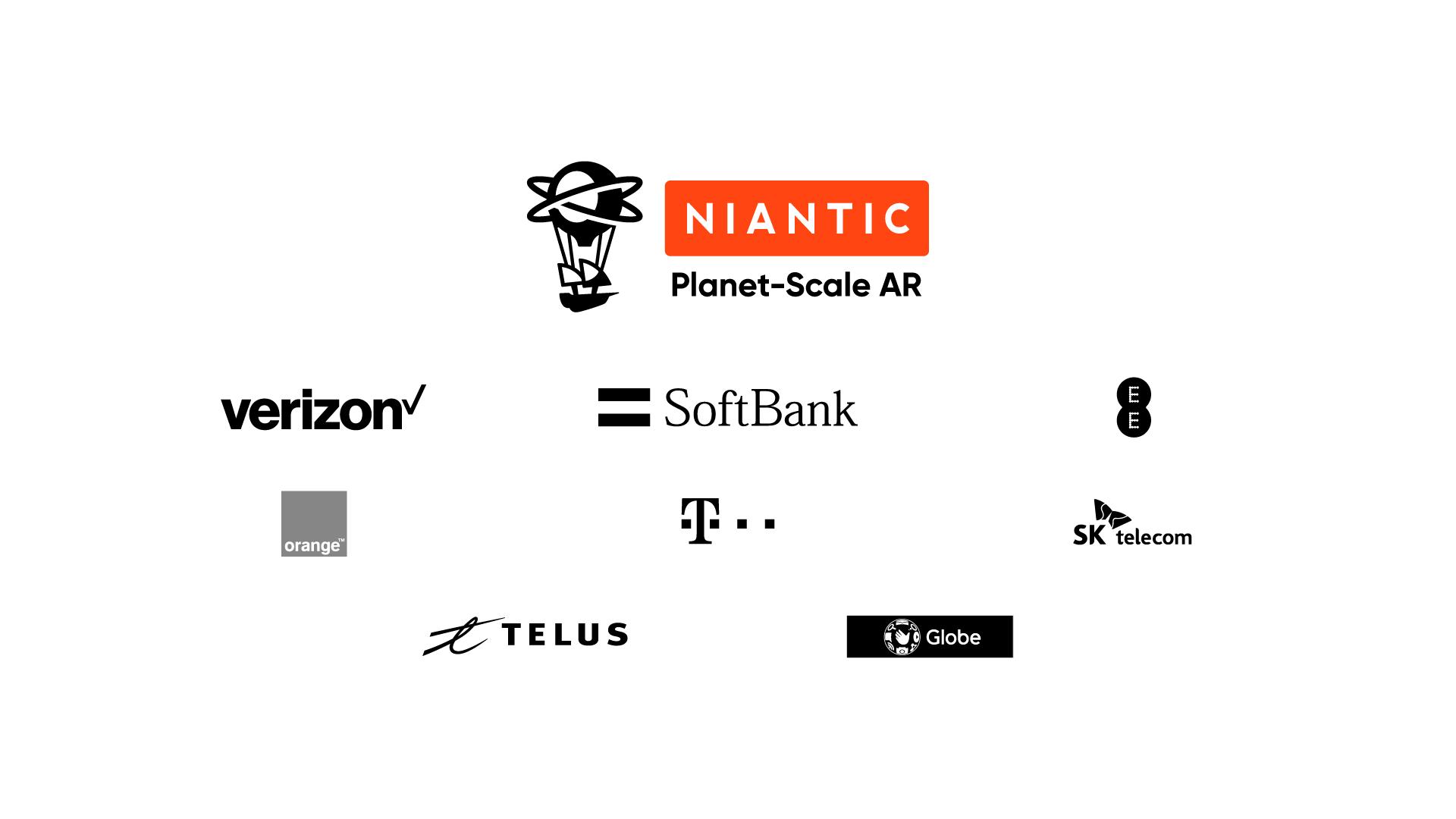 Niantic Planet Scale AR alliance