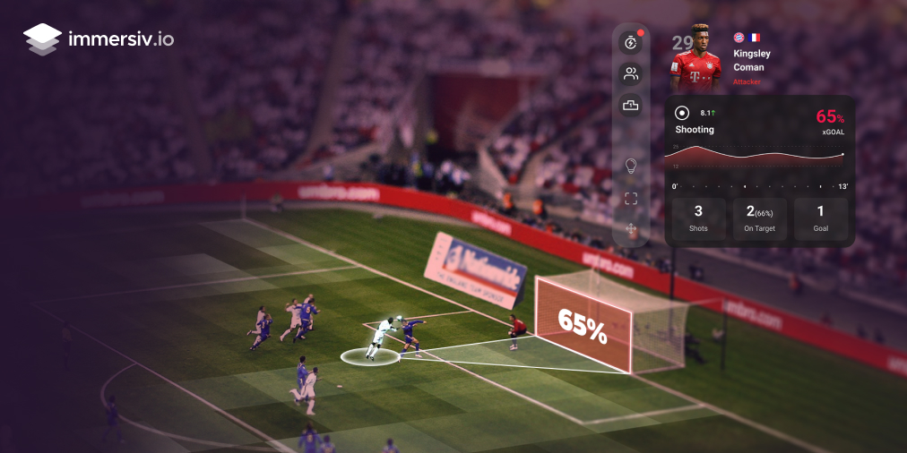 augmented reality digital experience sports fans