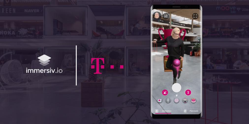 Deutsche Telekom project AR app 3D avatars