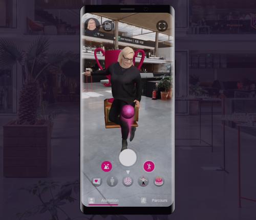 deutsche telekom augmented reality avatar 3D