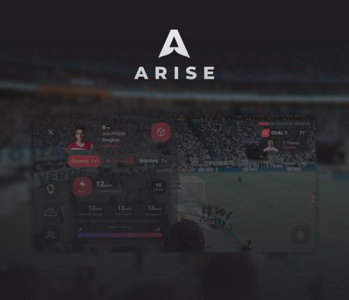XR AR Design sports app mobile glasses