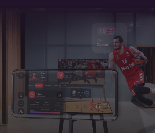 SAP.iO Demo Day: Presenting ARISE home with FC Bayern Basketball