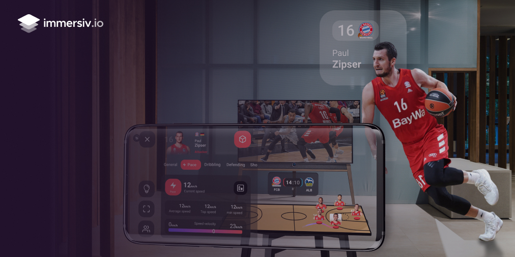 ARISE home PoC with FC Bayern Basketball