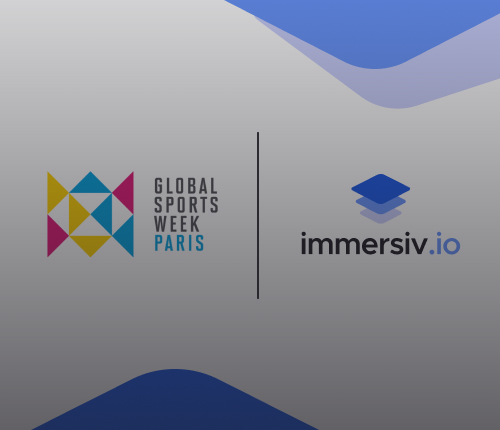 Immersiv.io at Global Sports Week 2021: Reinvention in action!