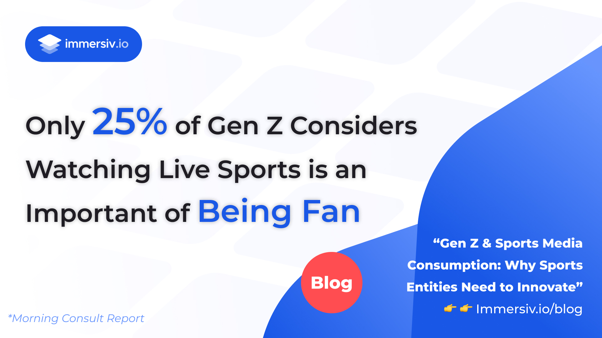 25% of Gen Z considers watching sports is important