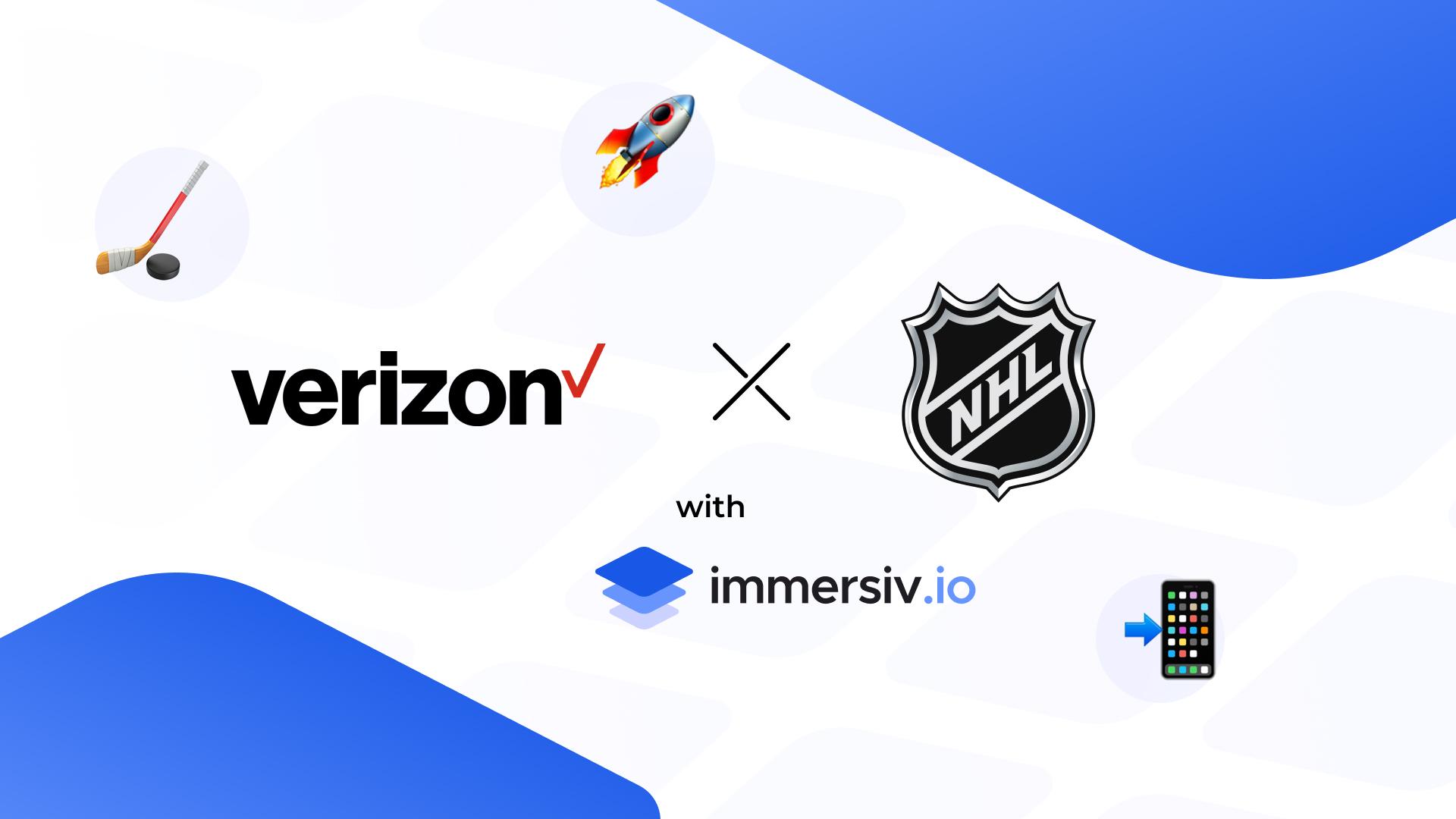 Verizon NHL 5G with Immersiv.io