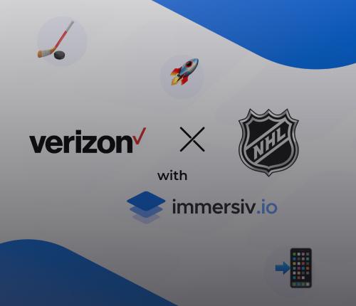 Verizon NHL AR 5G with Immersiv.io