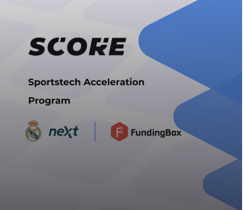 Immersiv.io is joining the First Batch of SCORE with Real Madrid Next & Fundingbox