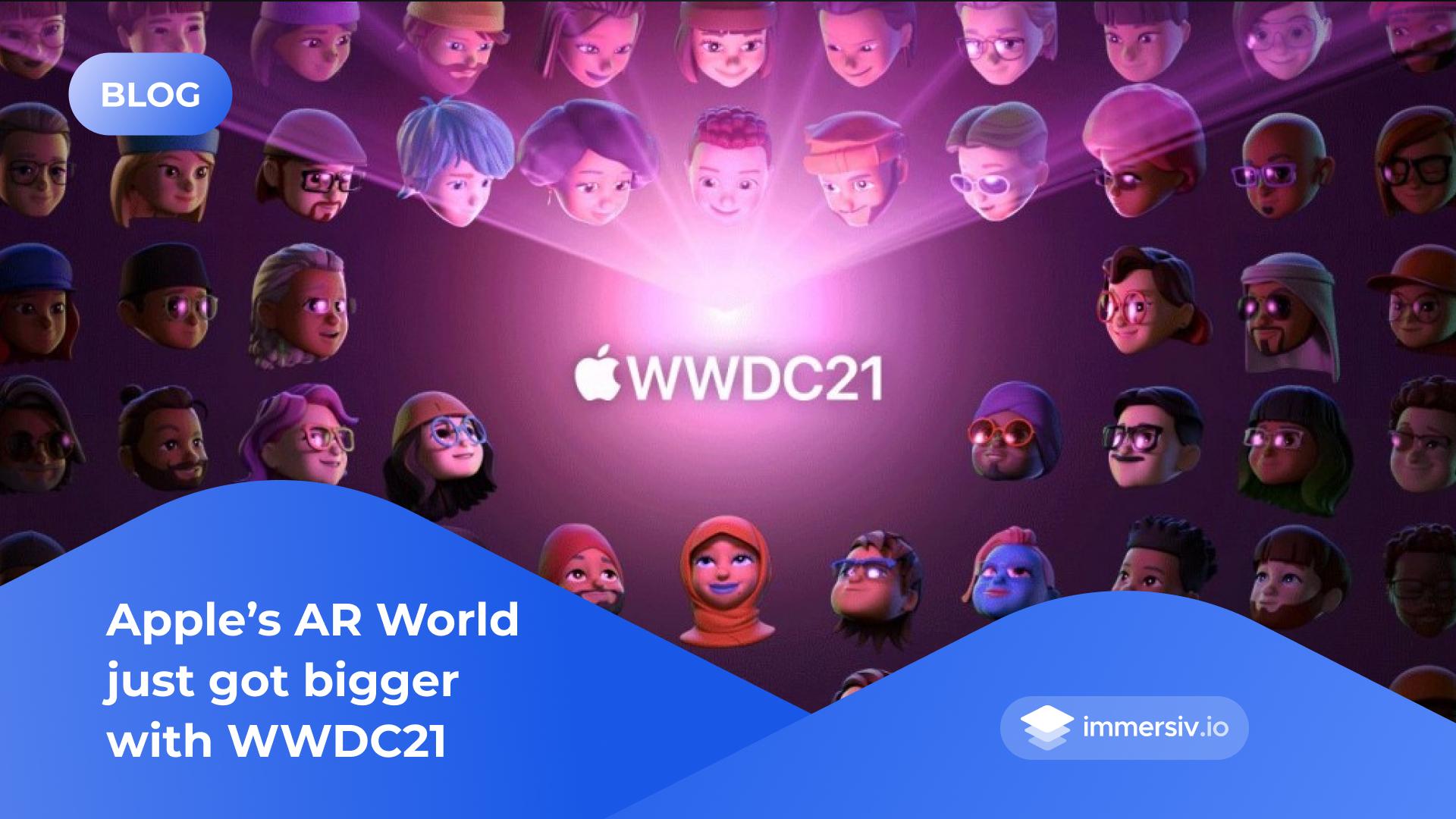 Apple WWDC 21 AR